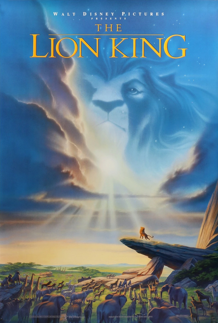 The Lion King 1994 poster
